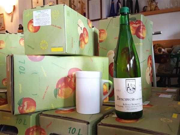 Birnen-Wein (Flasche)